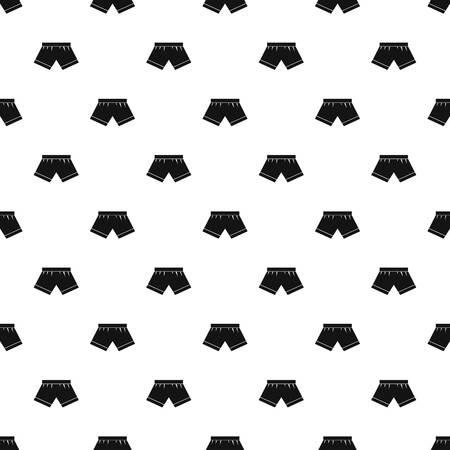 waistband: Male underwear pattern seamless in simple style vector illustration