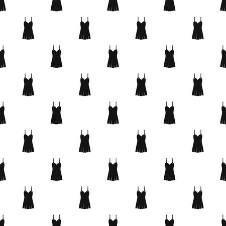 Nightdress pattern seamless in simple style vector illustration Illustration