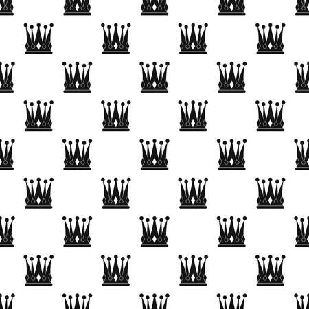 kingly: Kingly crown pattern vector Illustration