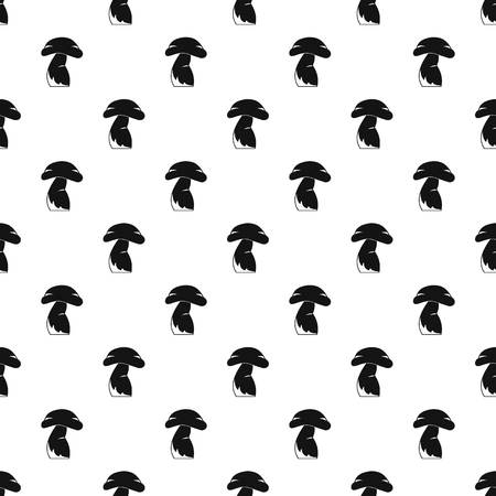 Good mushroom pattern vector