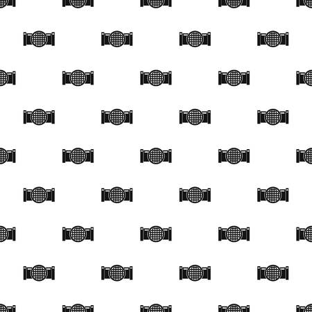 iron: Drain pipe pattern vector