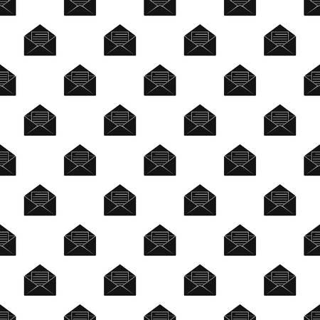 envelope: Envelope with sheet of paper pattern vector Illustration