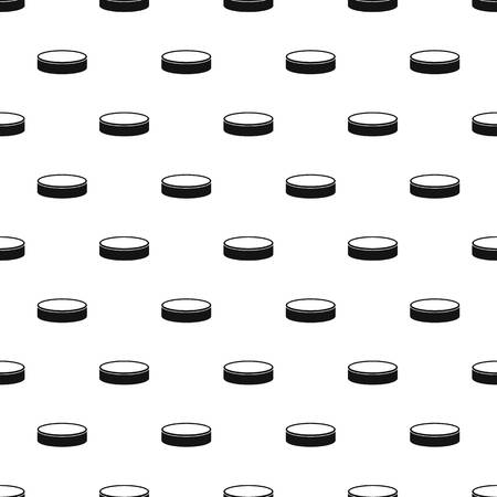 puck: Puck pattern vector