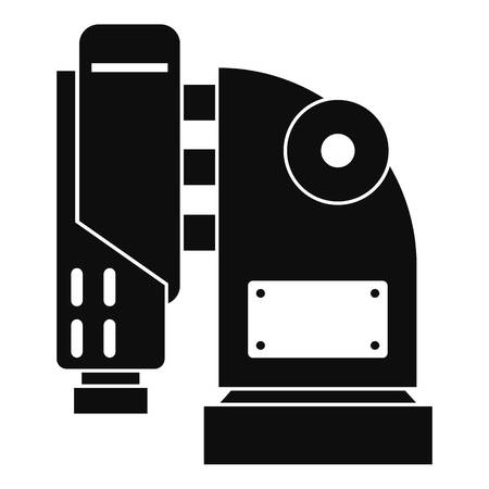 mason: Pneumatic hammer machine icon, simple style