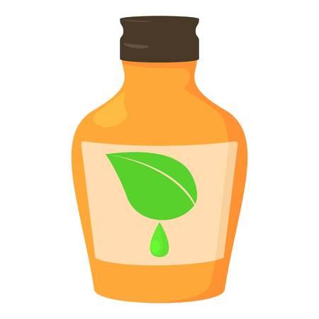 preventive: Medicine syrup bottle icon. Cartoon illustration of medicine syrup bottle vector icon for web