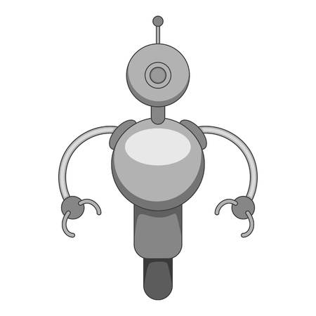 Machine icon monochrome