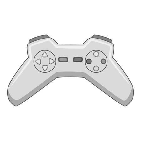 pad: Video game controller icon monochrome
