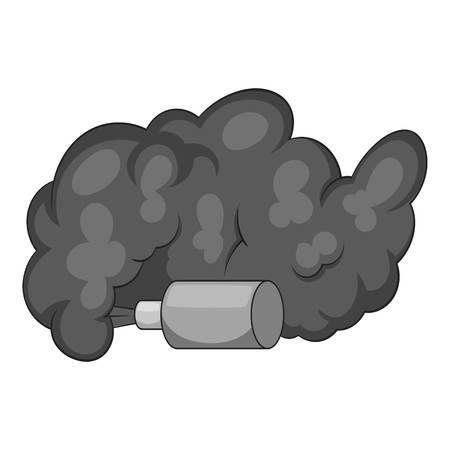 stop piracy: Molotov cocktail icon monochrome
