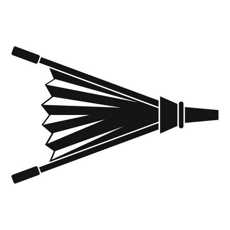 Fire bellows icon in simple style isolated vector illustration
