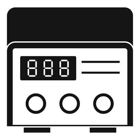 Professional tattoo machine icon simple 向量圖像