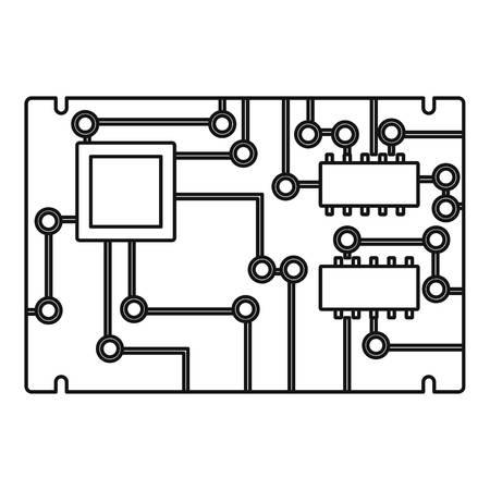 Aperçu de l'icône du tableau électronique Vecteurs