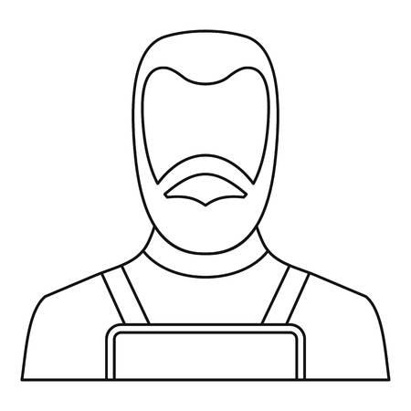 Blacksmith icon skizzieren