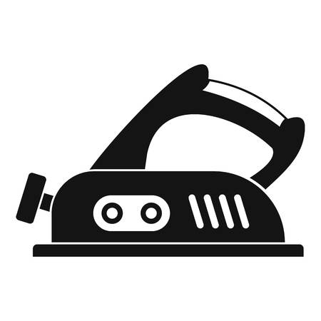 antiquated: Jack plane icon simple Illustration