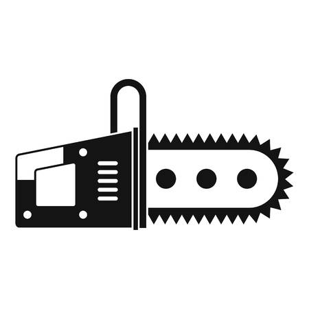 Chainsaw icon simple