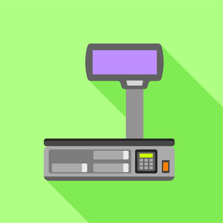 Electronic scales for weighing food icon