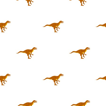fearful: Ornithopod dinosaur pattern seamless for any design vector illustration