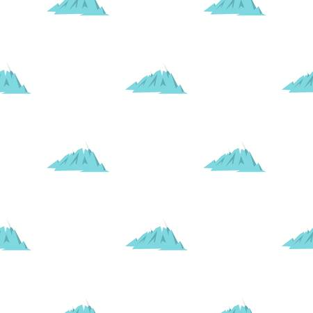 Rocky Mountains pattern seamless for any design vector illustration Illustration