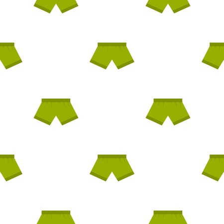 waistband: Green man boxer briefs pattern seamless for any design vector illustration