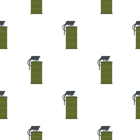 dangerous weapons: Smoke grenade pattern seamless for any design vector illustration