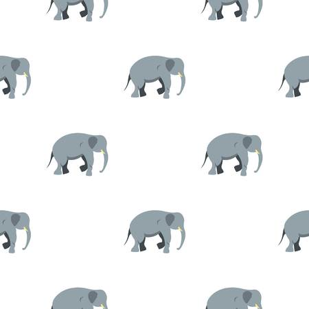Elephant pattern seamless for any design vector illustration
