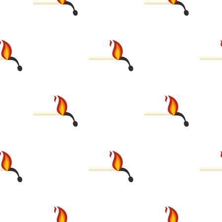 ablaze: Burning match pattern seamless