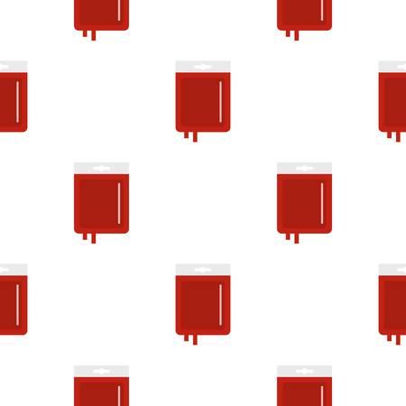 Blood transfusion pattern seamless