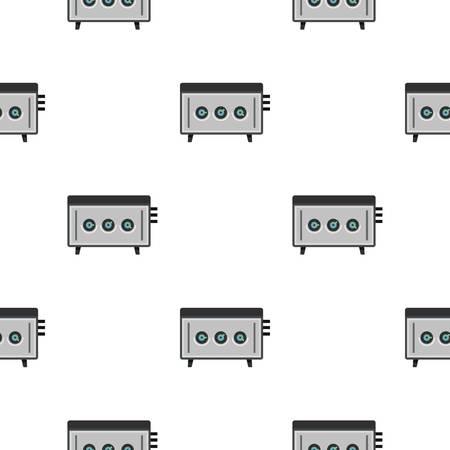 cd recorder: CD player pattern seamless for any design vector illustration Illustration