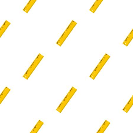 Yellow ruler pattern seamless for any design vector illustration Illustration