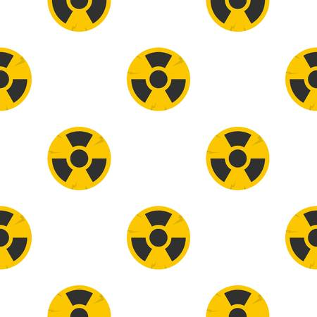 Nuclear sign pattern seamless for any design vector illustration Illustration