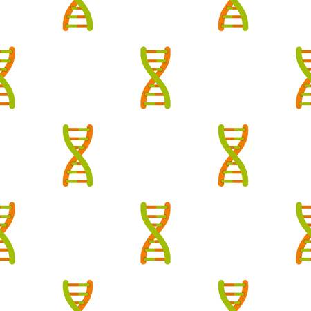 clone: DNA helix pattern seamless for any design vector illustration