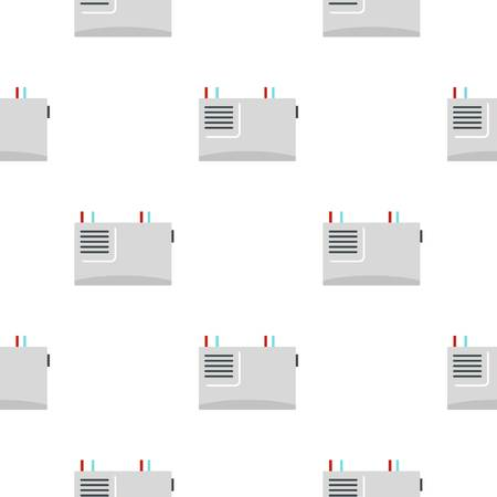 hub computer: Wall router pattern seamless for any design vector illustration