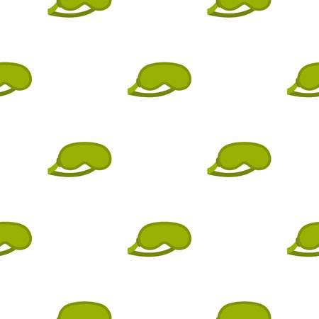 Green sleeping mask pattern seamless for any design vector illustration 向量圖像