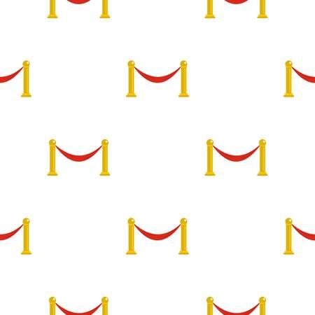 barrier pattern seamless for any design vector illustration