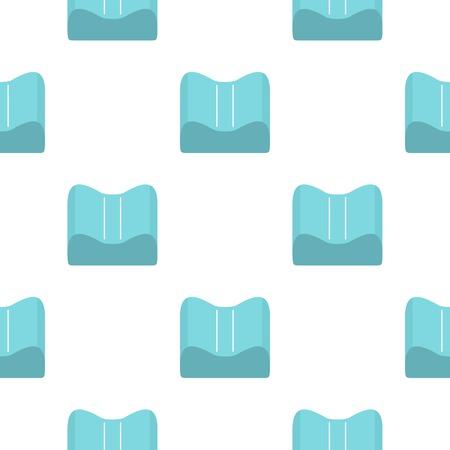 Orthopedic pillow pattern seamless for any design vector illustration