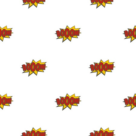 pattern: Boom, explosion pattern seamless for any design vector illustration Illustration
