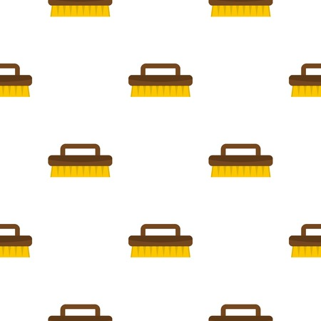 bristles: Wooden scrub brush pattern seamless for any design vector illustration Illustration