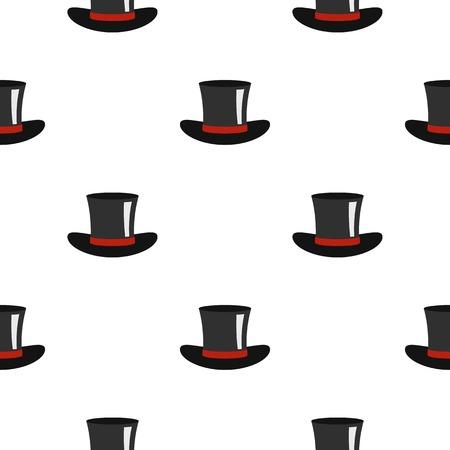 Silk hat pattern flat