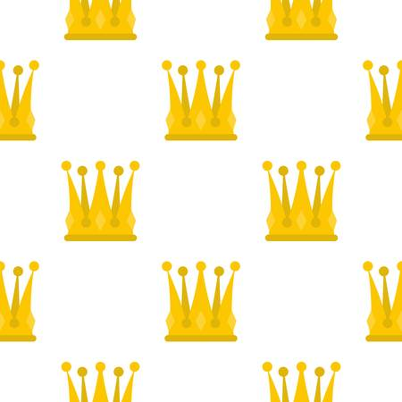 kingly: Kingly crown pattern flat