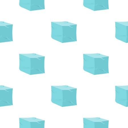 freeze: Ice pattern flat Illustration