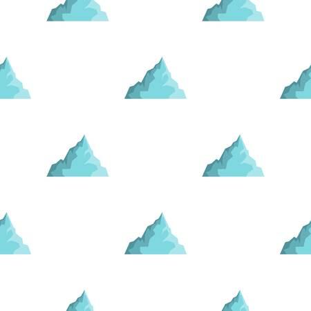 Iceberg pattern flat