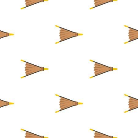 Fire bellows pattern flat Illustration