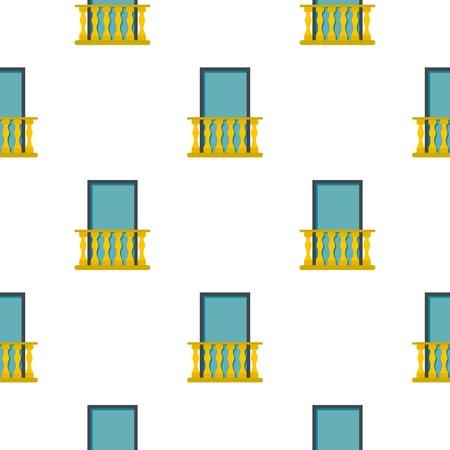 Balcony pattern flat