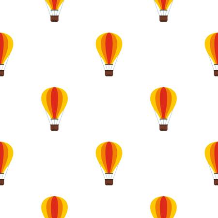 Baloon pattern seamless flat style for web vector illustration Illustration