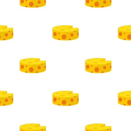 morsel: Cheese pattern seamless flat style for web vector illustration