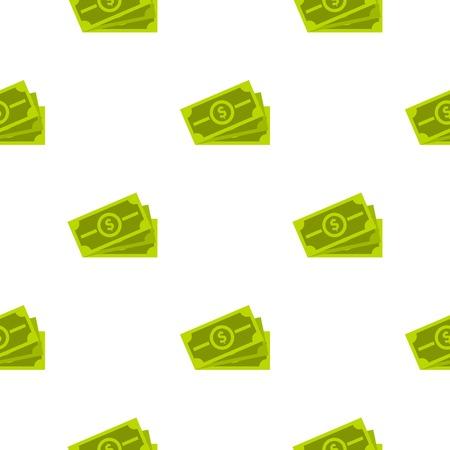 money packs: Cash pattern flat