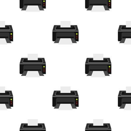 scaner: Printer pattern flat