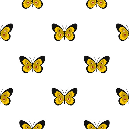 festivity: Butterfly pattern seamless flat style for web vector illustration