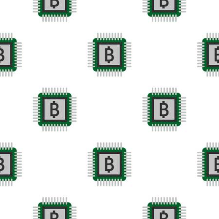 telecommunications equipment: Chip pattern flat