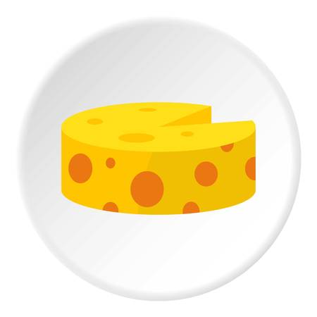 Cheese icon circle