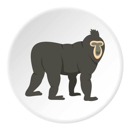 genus: Mandrill icon circle